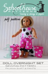 doll sleepover set
