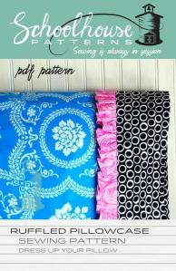 ruffled pillowcase