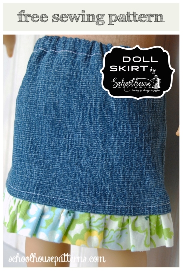 doll skirt graphic