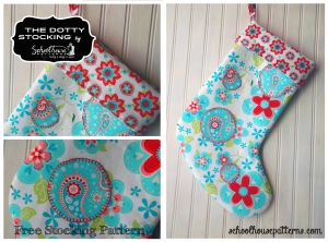 dotty stocking graphic