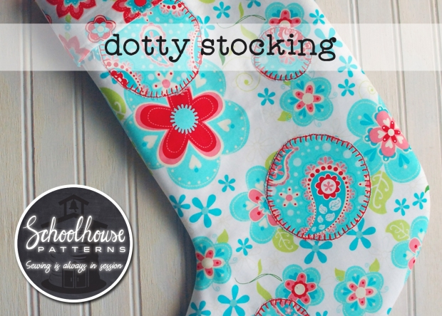 labeled dottie stocking wider