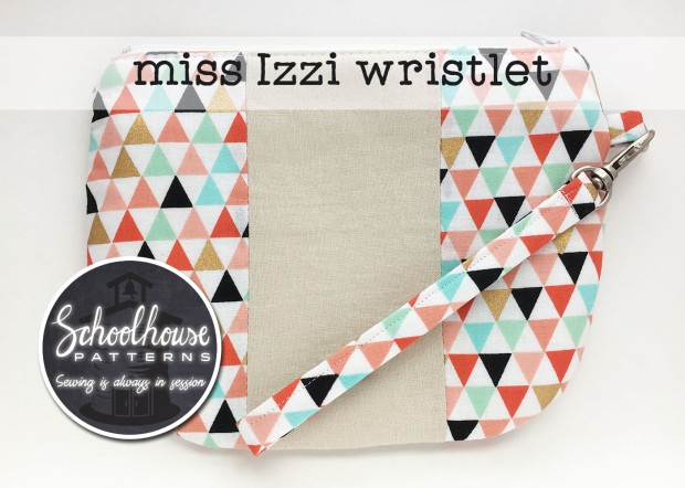 labeled Izzi pouch arrows wide
