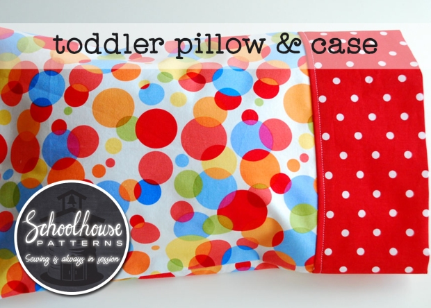labeled toddler pillow and case wide